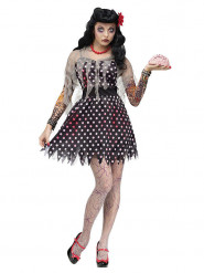 Costume da zombie rockabilly per donna