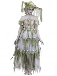 Costume dama vittoriana zombie per donna
