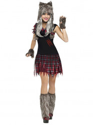 Costume da lupo mannaro per donna halloween