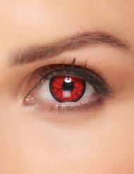 Lenti a contatto fantasia occhi iniettati di sangue