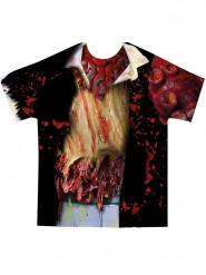 T-shirt da zombie per adulto