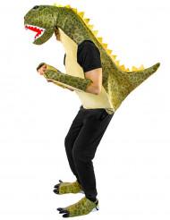 Costume da dinosauro verde per adulto