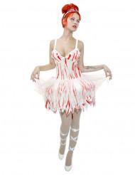 Costume da ballerina zombie per donna