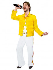 Costume da cantante anni 80 per uomo