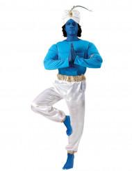 Costume da Genio Blu della lampada per adulto