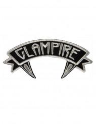 Toppa Kreepsville Glampire grigia e nera Halloween