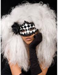 Parrucca bianca barocca per donna
