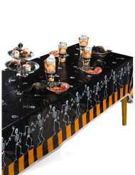 Tovaglia con scheletri halloween 274x137 cm