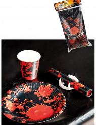 Kit decorazione horror da tavola per 6 persone