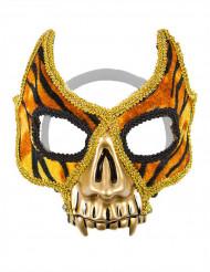Maschera veneziana tigrata