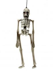 Decorazione di halloween scheletro da appendere 40 cm