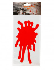 Adesivo per finestre macchia di sangue Halloween