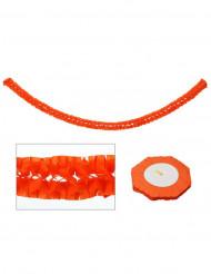 Festone arancione 270x15 cm