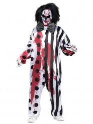 Costume Clown sanguinante Halloween