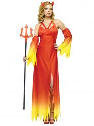 Costume da elegante diavolessa per donna