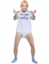 Costume da bebe per adulto