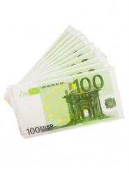 10 Tovaglioli di carta banconote da 100€