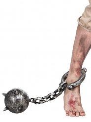 Catena da prigioniero con palla borchiata