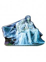 Decorazione coppia fantasma halloween