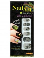 12 Tatuaggi per unghie multicolore halloween