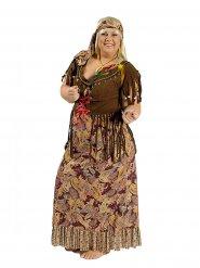 3c5231949098 Costume hippie anni 60 taglia grande per donna