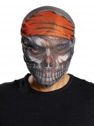 Maschera da pirata zombie halloween