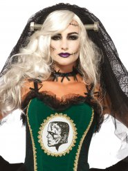 Velo da sposa gotica  Halloween