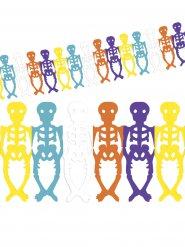 Ghirlanda scheletri Dia de los muertos Halloween