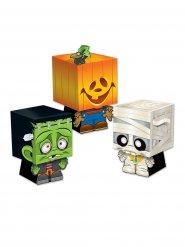 Kit di 3 scatole sorpresa dolcetto o scherzetto per halloween