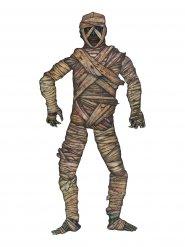 Decorazione halloween mummia in cartone 1 m