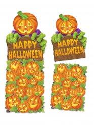 Decorazione da muro Zucca Happy Halloween