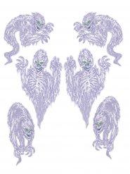 6 Decorazioni adesive fantasmi