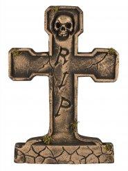 Lapide RIP color bronzo 65 cm