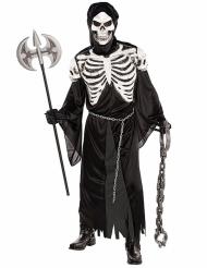 Costume da scheletro spaventoso per adulto