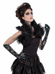 Bolerino gotico con colletto alto per donna