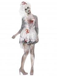 Costume da zombie barocco per donna