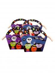 4 Scatole di cartone per caramelle  Halloween