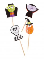 20 stecchini decorativi di Halloween
