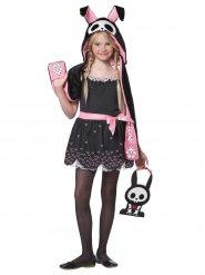 Costume da coniglio scheletro per bambino