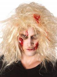 Kit trucco zombie con occhio insanguinato adulto Halloween