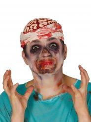Finta bocca sigillata per Halloween