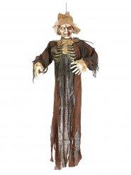 Decorazione spaventapasseri zombie Halloween