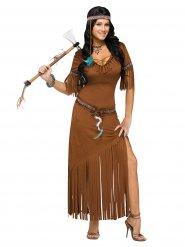 Costume da indiana a frange per donna