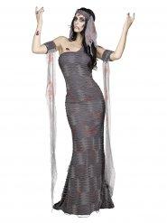 Costume da mummia zombie per donna