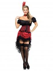 Costume da ballerina di saloon per donna