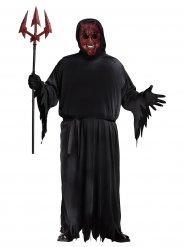 Costume da diavolo con effetto luminoso per adulto