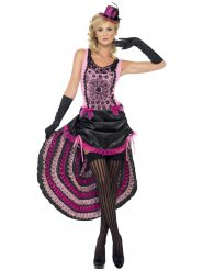 Costume da ballerina burlesque per donna