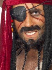 Kit per trucco da pirata per adulto