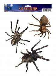 3 Stickers ragni di Halloween