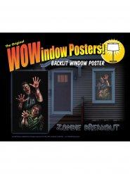 Adesivo per finestra Zombies